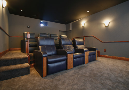 Custom Home Theatre System In Baton Rouge