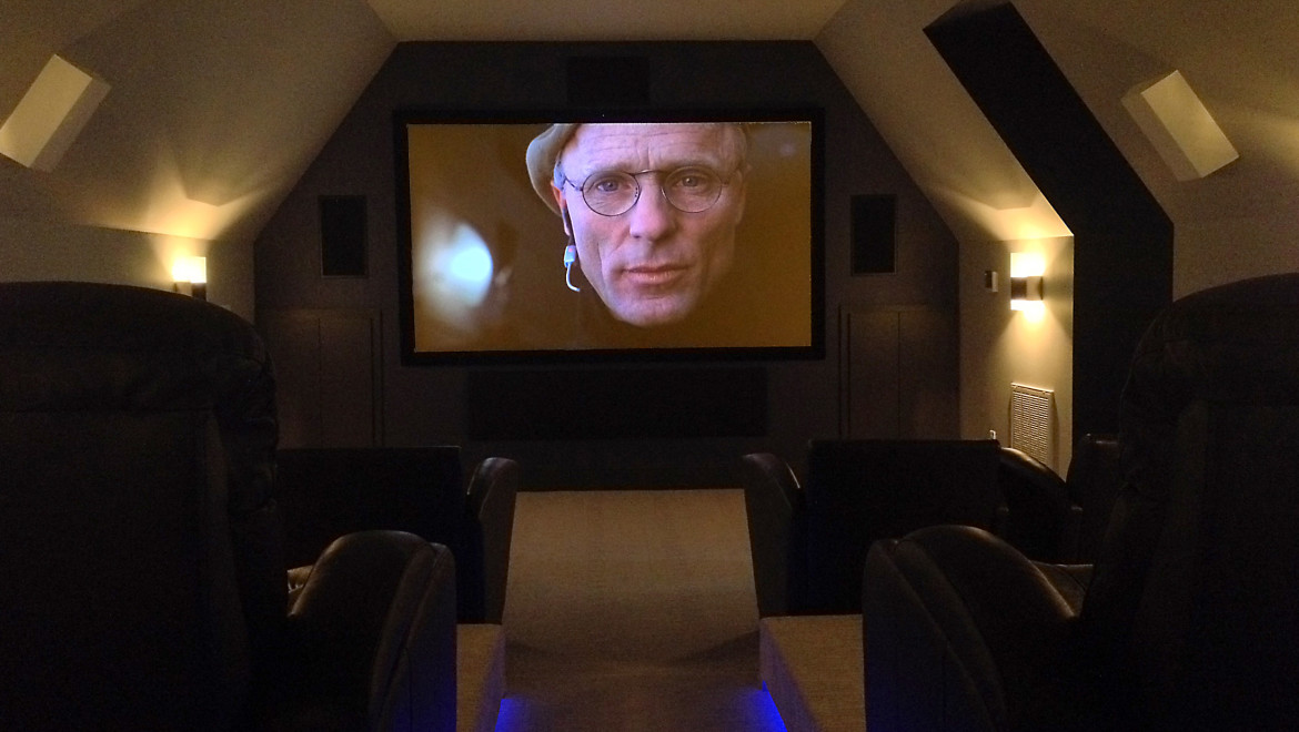 Landry Custom Home Theater