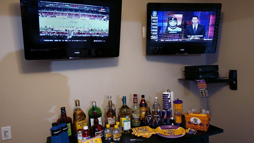 Starkey Condo Media Center Setup