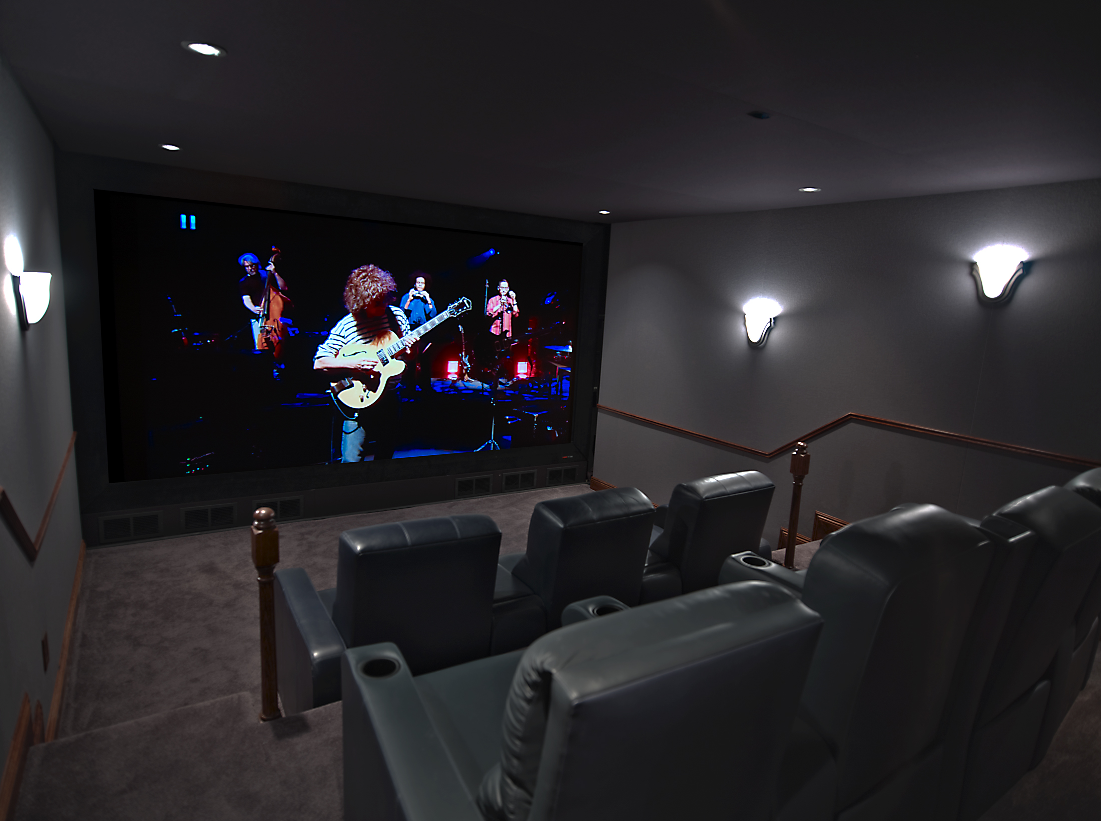 Custom home theater innovative home media for Unique home theater