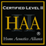 Innovaite Home Media is HAA Certified